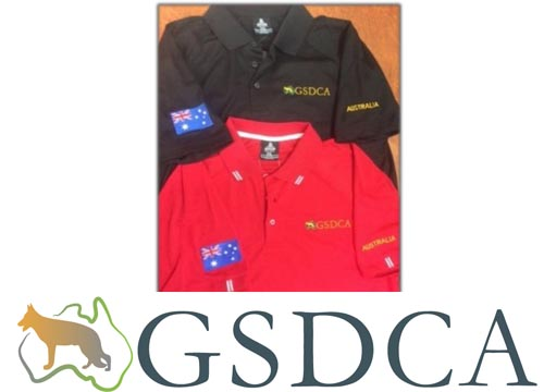 GSDCA Polo Shirts