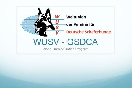 WUSV Harmonisation Program