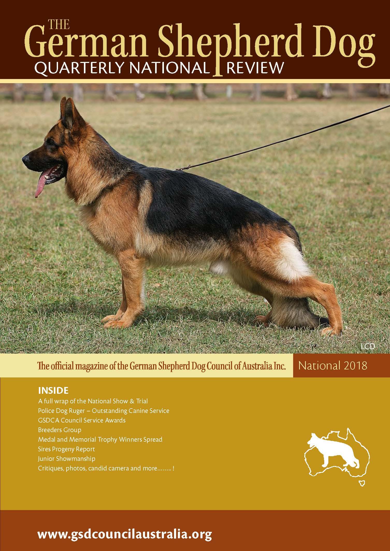 Magazine – German Shepherd Dog Council of Australia
