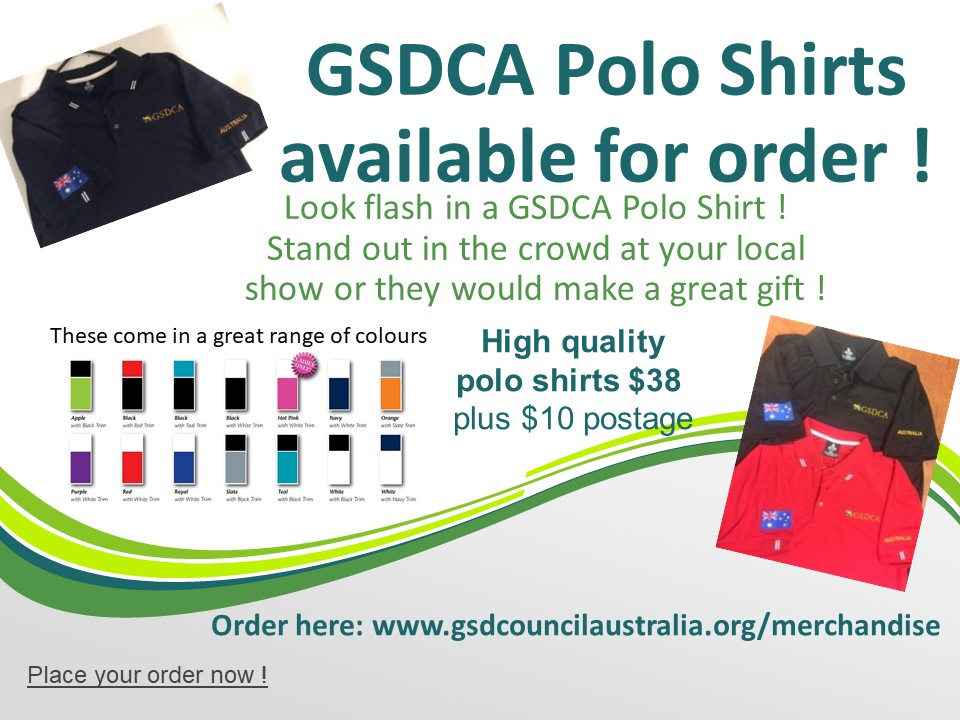 GSDCA Polo Shirt Sale