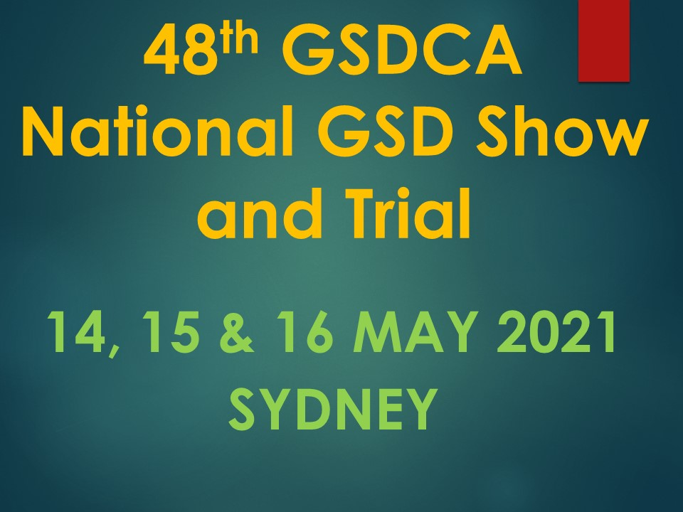 48th National Show & Trial